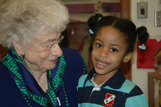 Grandmother and student of Clinton Elementary